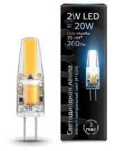 Лампа Gauss LED G4 AC220-240V 2W 4100K